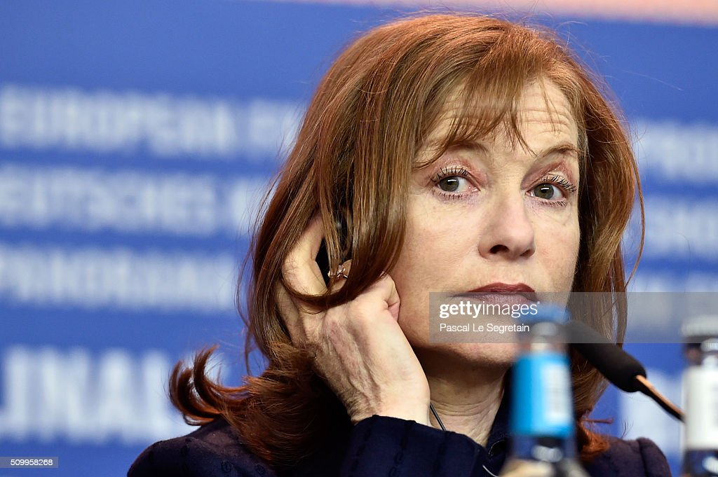 Actress <a gi-track='captionPersonalityLinkClicked' href=/galleries/search?phrase=Isabelle+Huppert&family=editorial&specificpeople=662796 ng-click='$event.stopPropagation()'>Isabelle Huppert</a> attends the 'Things to Come' (L'avenir) press conference during the 66th Berlinale International Film Festival Berlin at Grand Hyatt Hotel on February 13, 2016 in Berlin, Germany.