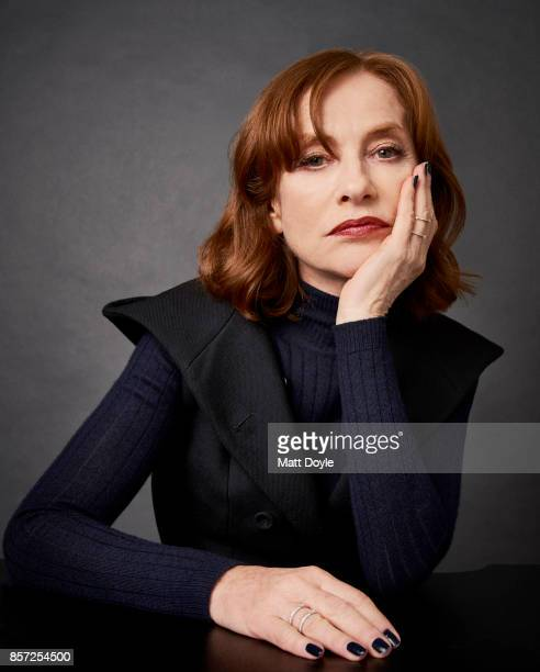 Actress Isabelle Huppert from the film 'Madame Hyde' poses for a portrait at the 55th New York Film Festival on October 1 2017