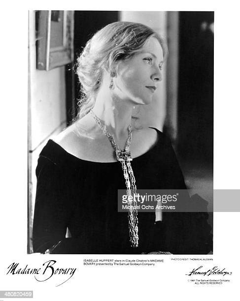 Actress Isabelle Huppert in a scene from the Samuel Goldwyn movie 'Madame Bovary' circa 1991