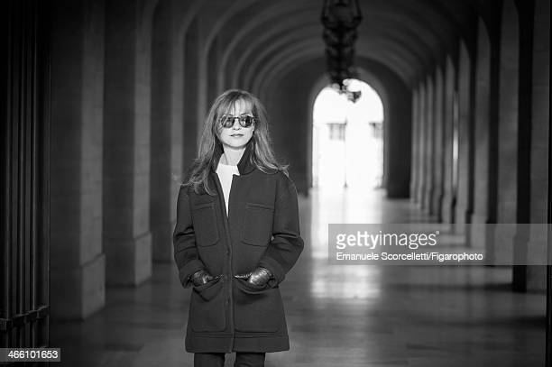 108635010 Actress Isabelle Huppert is photographed for Madame Figaro on December 18 2013 in Paris France CREDIT MUST READ Emanuele...