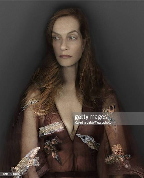 Actress Isabelle Huppert is photographed for Madame Figaro on June 16 2014 in Paris France Dress CREDIT MUST READ Katerina Jebb/Figarophoto/Contour...