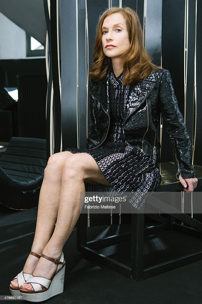 Actress <a gi-track='captionPersonalityLinkClicked' href=/galleries/search?phrase=Isabelle+Huppert&family=editorial&specificpeople=662796 ng-click='$event.stopPropagation()'>Isabelle Huppert</a> is photographed for The Hollywood Reporter on May 15, 2015 in Cannes, France. **NO