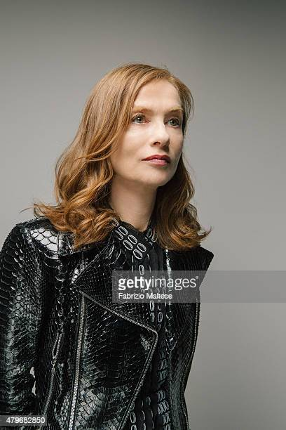 Actress Isabelle Huppert is photographed for The Hollywood Reporter on May 15 2015 in Cannes France **NO SALES IN USA TILL AUGUST 28 2015**