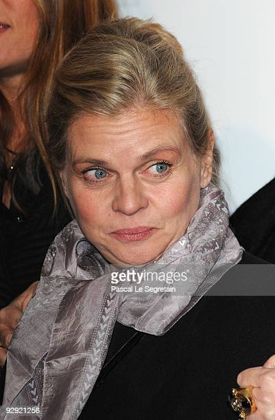 Actress Isabelle Nanty attends premiere of the directors Claude Berry and Francois Dupeyron's film 'Tresor' at Cinema Gaumont Capucine on November 9...