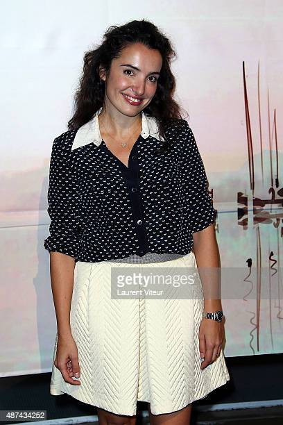 Actress Isabelle Vitari attends the Opening Ceremony of 17th Festival of TV Fiction At La Rochelle on September 9 2015 in La Rochelle France