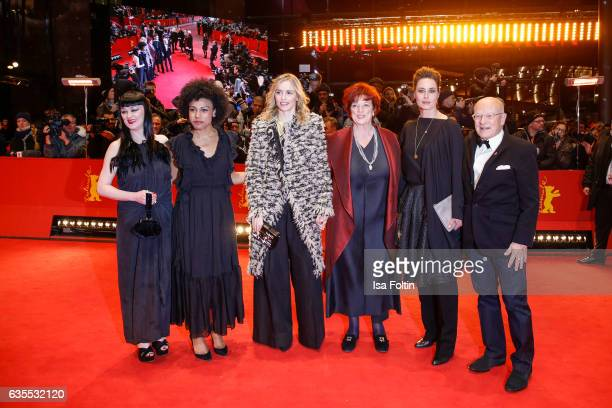 Actress Isi LabordeEdozien french actress Anne Deniau german actress Nina Hoss producer Regina Ziegler german actress Susanne Wolff and director...