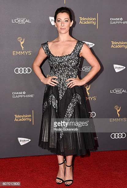 Actress Isidora Goreshter at the Television Academy Reception for EmmyNominated Performers at Pacific Design Center on September 16 2016 in West...