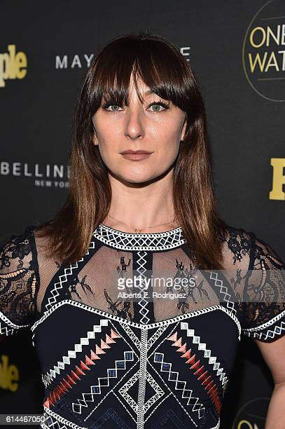 Actress Isidora Goreshter attends People's 'Ones to Watch' event presented by Maybelline New York at EP LP on October 13 2016 in Hollywood California
