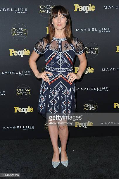 Actress Isidora Goreshter attends People's 'Ones To Watch' party at EP LP on October 13 2016 in West Hollywood California