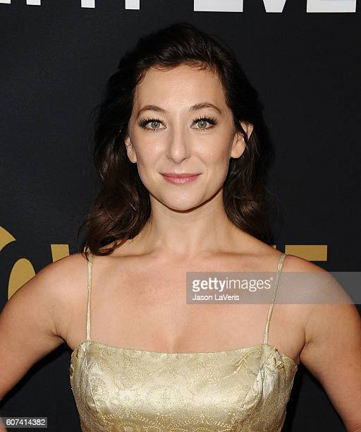 Actress Isidora Goreshter attends the Showtime Emmy eve party at Sunset Tower on September 17 2016 in West Hollywood California
