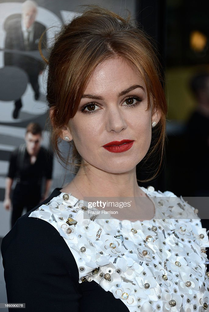 Actress Isla Fisher arrives at the Screening Of Summit Entertainment's 'Now You See Me' at ArcLight Hollywood on May 23, 2013 in Hollywood, California.