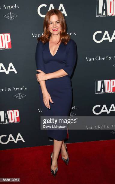 Actress Isla Fisher attends LA Dance Project's Annual Gala at LA Dance Project on October 7 2017 in Los Angeles California