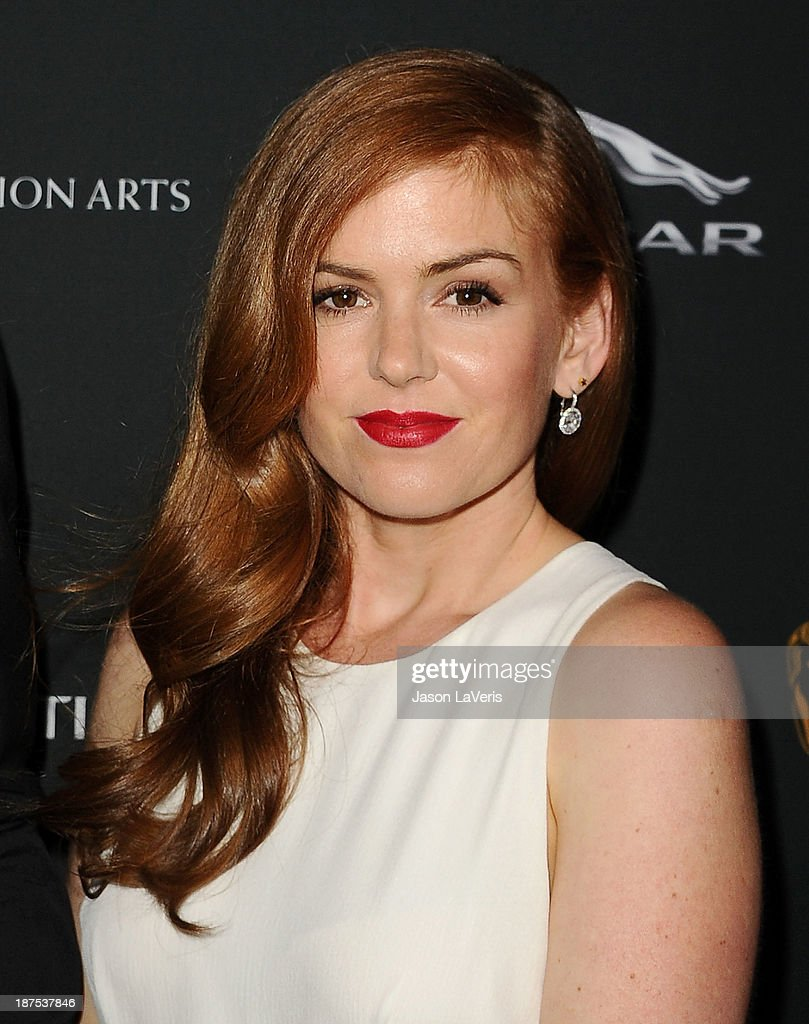Actress <a gi-track='captionPersonalityLinkClicked' href=/galleries/search?phrase=Isla+Fisher&family=editorial&specificpeople=220257 ng-click='$event.stopPropagation()'>Isla Fisher</a> attends the BAFTA Los Angeles Britannia Awards at The Beverly Hilton Hotel on November 9, 2013 in Beverly Hills, California.