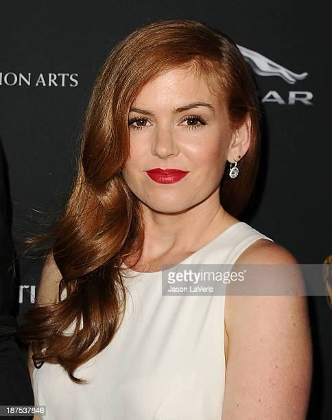 Actress Isla Fisher attends the BAFTA Los Angeles Britannia Awards at The Beverly Hilton Hotel on November 9 2013 in Beverly Hills California