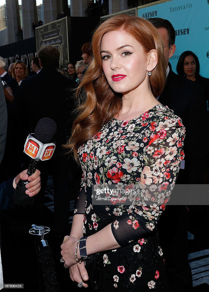 Actress Isla Fisher attends 'The Great Gatsby' world premiere at Avery Fisher Hall at Lincoln Center for the Performing Arts on May 1, 2013 in New York City.