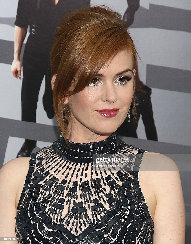 Actress Isla Fisher attends the 'Now You See Me' New York Premiere at AMC Lincoln Square Theater on May 21, 2013 in New York City.