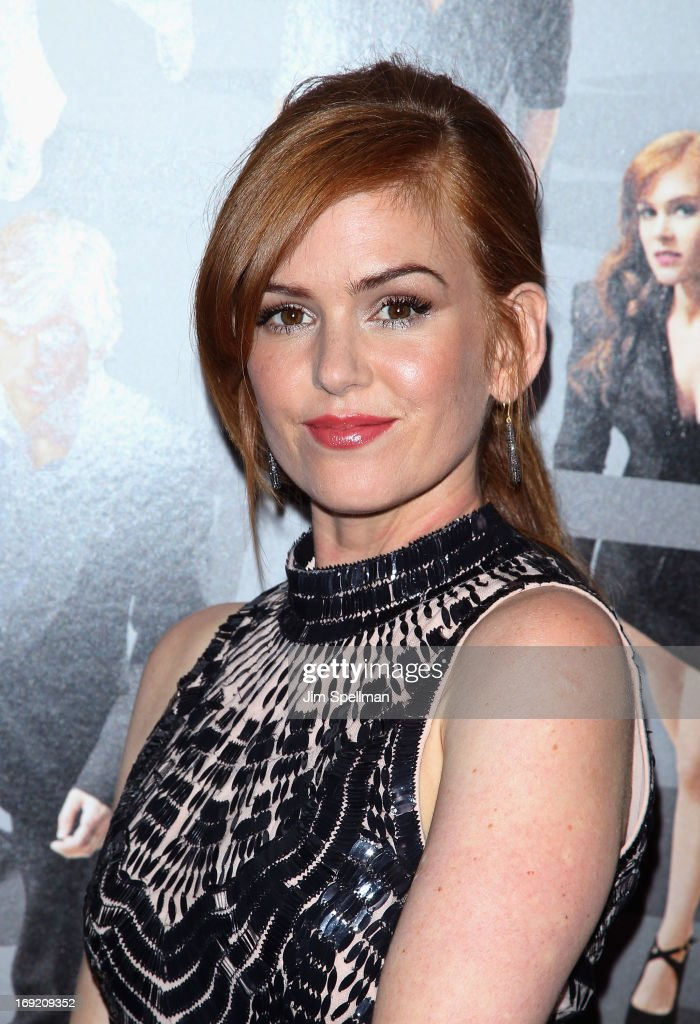Actress Isla Fisher attends the 'Now You See Me' premiere at AMC Lincoln Square Theater on May 21, 2013 in New York City.