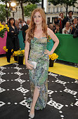 Actress Isla Fisher attends the premiere of the Larry Charles's film 'Bruno' at Publicis Champs Elysees on June 15 2009 in Paris France