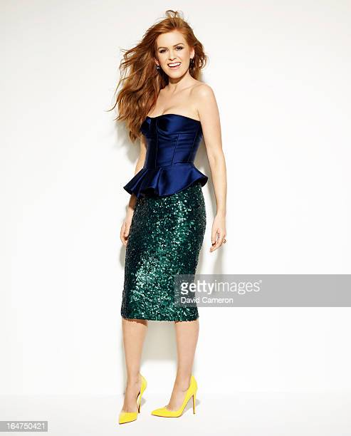Actress Isla Fisher is photographed for C Magazine on February 1 2013 in Los Angeles California PUBLISHED IMAGE ON DOMESTIC EMBARGO UNTIL MAY 1 2013...