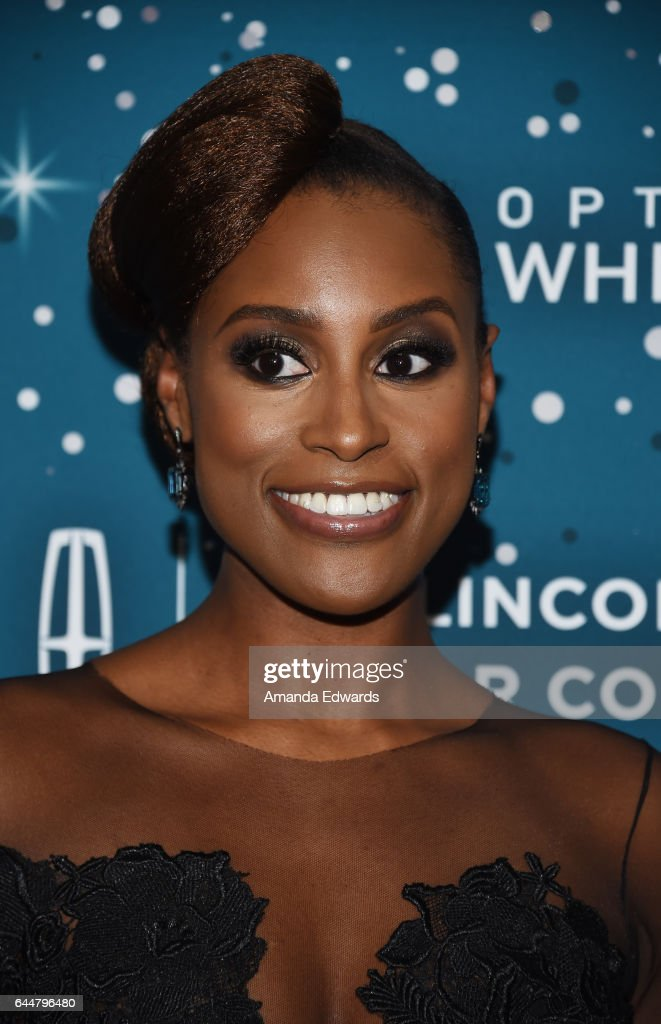 Actress Issa Rae arrives at the Essence 10th Annual Black Women in Hollywood Awards Gala at the Beverly Wilshire Four Seasons Hotel on February 23, 2017 in Beverly Hills, California.