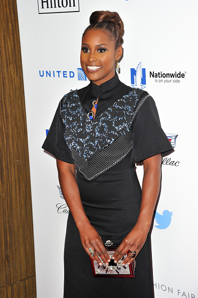 Image result for issa rae  ebony power 100 gala 2016 red carpet