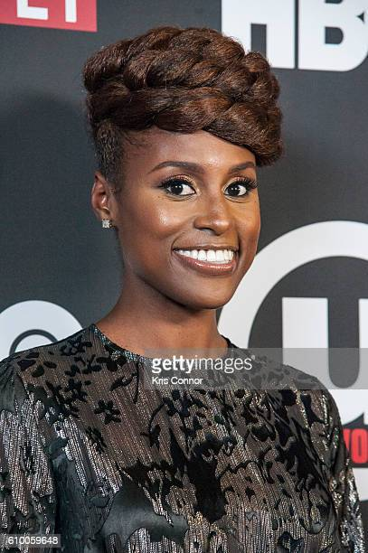 Actress Issa Rae attends the screening of HBO's new sitcom 'Insecure' during the 2016 Urbanworld Film Festival at AMC Empire 25 theater on September...