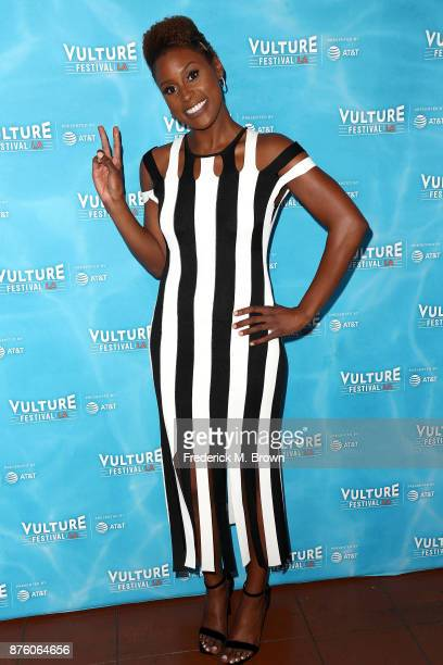 Actress Issa Rae attends the Vulture Festival Los Angeles at the Hollywood Roosevelt Hotel on November 18 2017 in Hollywood California