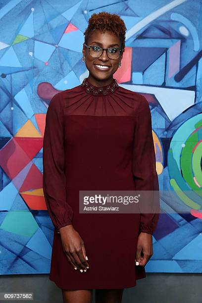 Actress Issa Rae visits LinkedIn on September 22 2016 in New York City