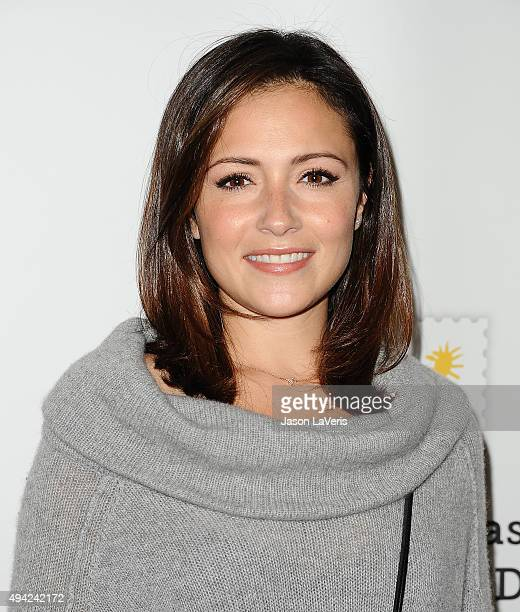 Actress Italia Ricci attends the Elizabeth Glaser Pediatric AIDS Foundation's 26th A Time For Heroes family festival at Smashbox Studios on October...