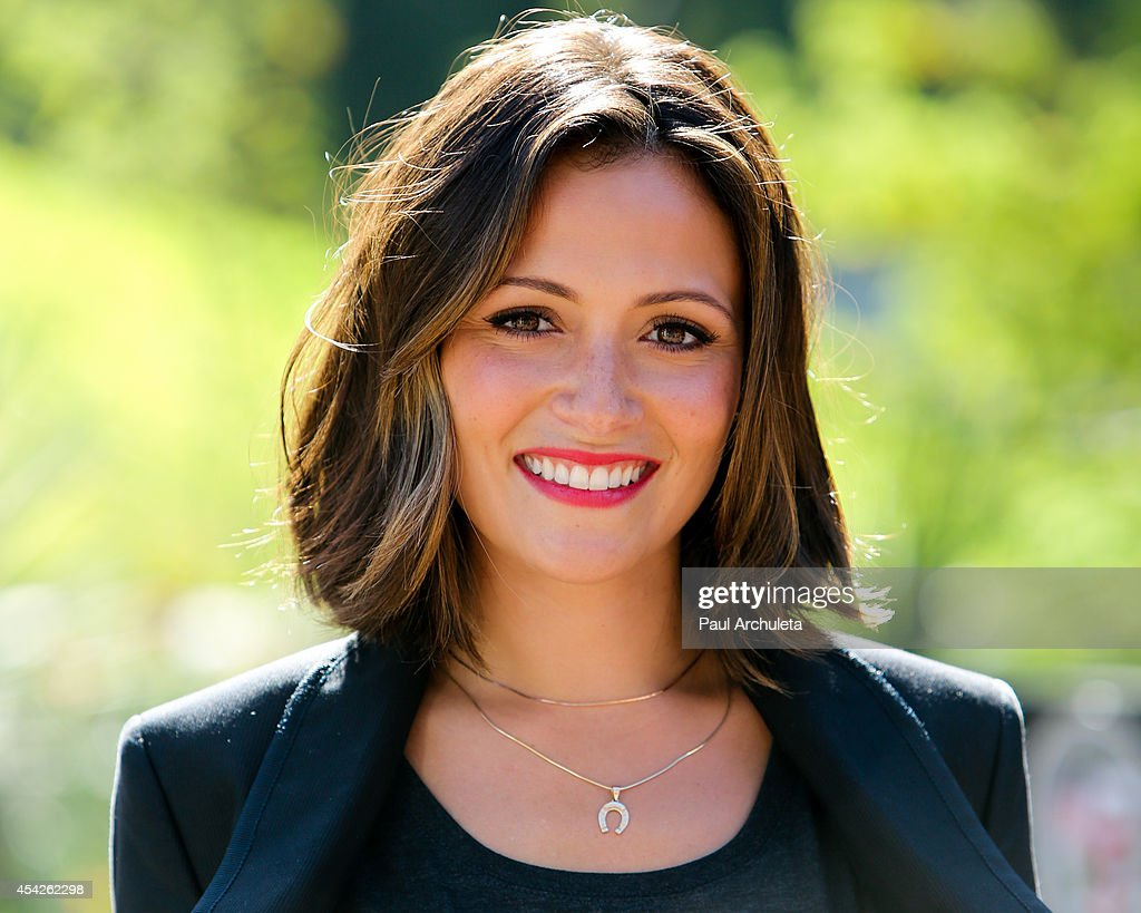 Actress Italia Ricci attends the 'Stand Up To Cancer' press conference at Los Angeles City Hall on August 27, 2014 in Los Angeles, California.