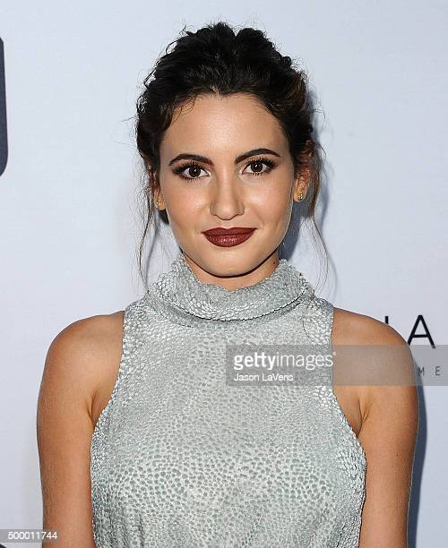 Actress Ivana Baquero attends the premiere of 'The Shannara Chronicles' at iPic Theaters on December 4 2015 in Los Angeles California