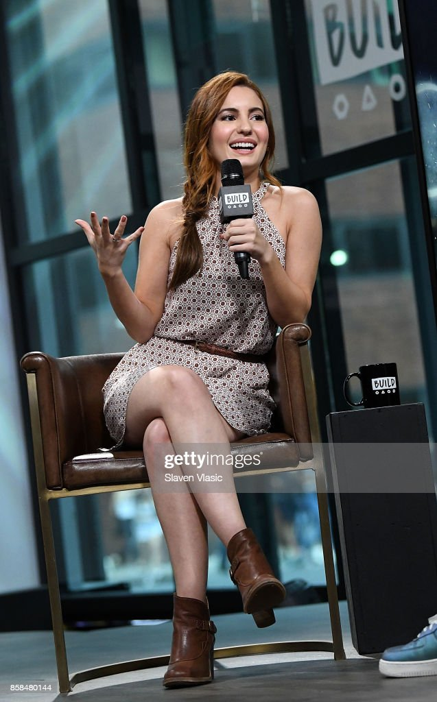 Actress Ivana Baquero visits Build to discuss 'The Shannara Chronicles' at Build Studio on October 6, 2017 in New York City.