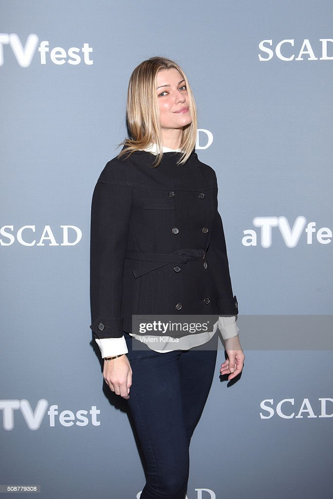 Actress <a gi-track='captionPersonalityLinkClicked' href=/galleries/search?phrase=Ivana+Milicevic&family=editorial&specificpeople=2529749 ng-click='$event.stopPropagation()'>Ivana Milicevic</a> attends the 'Banshee' event during aTVfest 2016 presented by SCAD on February 6, 2016 in Atlanta, Georgia.