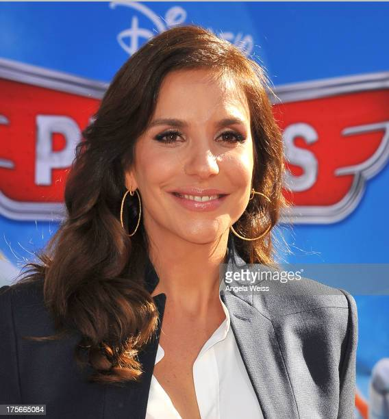 Actress Ivete Sangalo arrives at the premiere of Disney's 'Planes' presented by Target at the El Capitan Theatre on August 5 2013 in Hollywood...