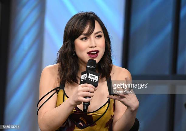 Actress Ivory Aquino discusses portraying transgenderactivist Cecilia Chung in the new miniseries event 'When We Rise' at Build Series at Build...