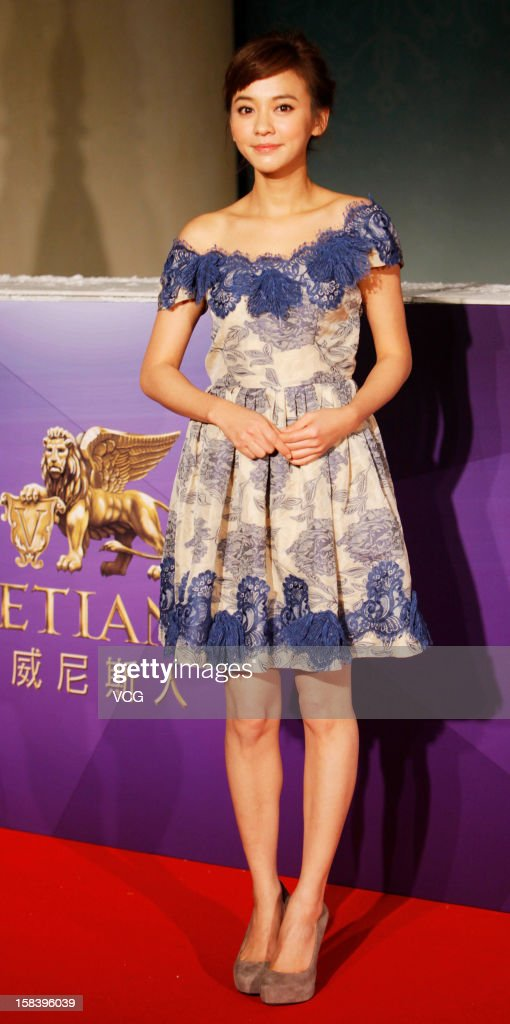 Actress <a gi-track='captionPersonalityLinkClicked' href=/galleries/search?phrase=Ivy+Chen&family=editorial&specificpeople=5858273 ng-click='$event.stopPropagation()'>Ivy Chen</a> arrives at the red carpet of the 55th Asia-Pacific Film Festival at Venetian Macao Resort Hotel on December 15, 2012 in Macau, Macau.