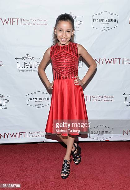 Actress Izabella Alvarez attends a screening of the film 'Little Miss Perfect' at TCL Chinese Theatre on May 26 2016 in Hollywood California