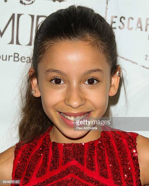 Actress Izabella Alvarez attends the screening of 'Little Miss Perfect' at The TCL Chinese Theatre on May 26 2016 in Hollywood California
