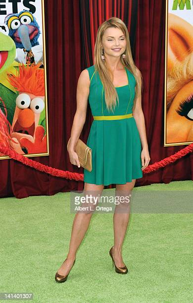 Actress Izabella Miko arrives for 'The Muppet' Los Angeles Premiere held at the El Capitan Theatre on November 12 2011 in Hollywood California