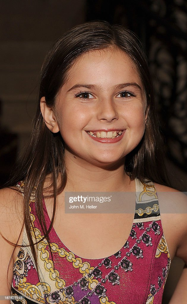 Actress Izzy Eggerling attends the screening of 'A Country Christmas' at the Pacific Theatre at The Grove on November 12, 2013 in Los Angeles, California.