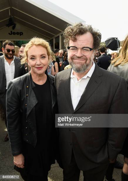 Actress J SmithCameron and director Kenneth Lonergan attend the 2017 Film Independent Spirit Awards at the Santa Monica Pier on February 25 2017 in...