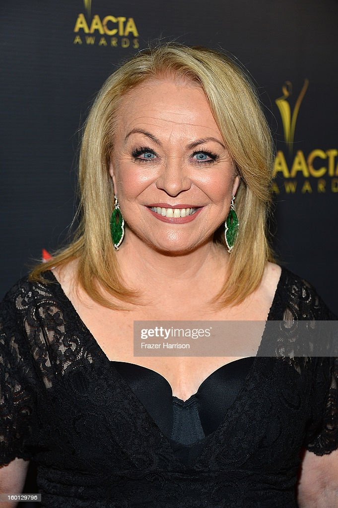 Actress Jacki Weaver arrives at the 2ND AACTA International Awards at Soho House on January 26, 2013 in West Hollywood, California.