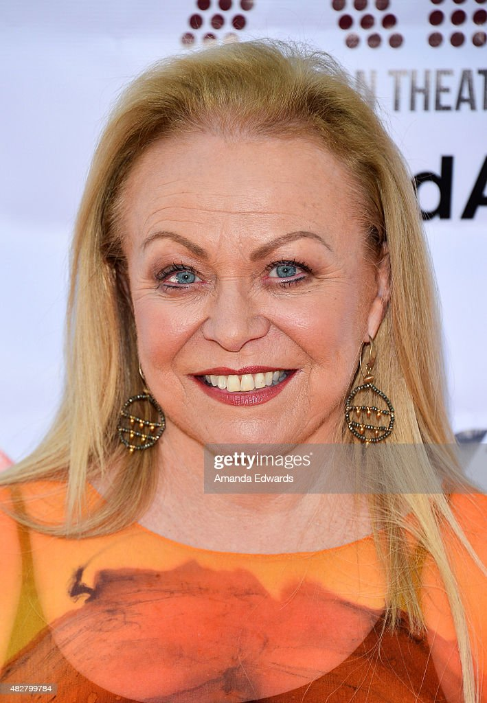 Actress <a gi-track='captionPersonalityLinkClicked' href=/galleries/search?phrase=Jacki+Weaver&family=editorial&specificpeople=220549 ng-click='$event.stopPropagation()'>Jacki Weaver</a> arrives at the Australian Theatre Company fundraiser hosted by the Australian Consul-General on August 2, 2015 in Los Angeles, California.