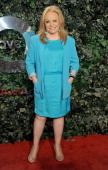 Actress Jacki Weaver arrives at the QVC 'Red Carpet Style' party at Four Seasons Hotel Los Angeles at Beverly Hills on February 22 2013 in Beverly...