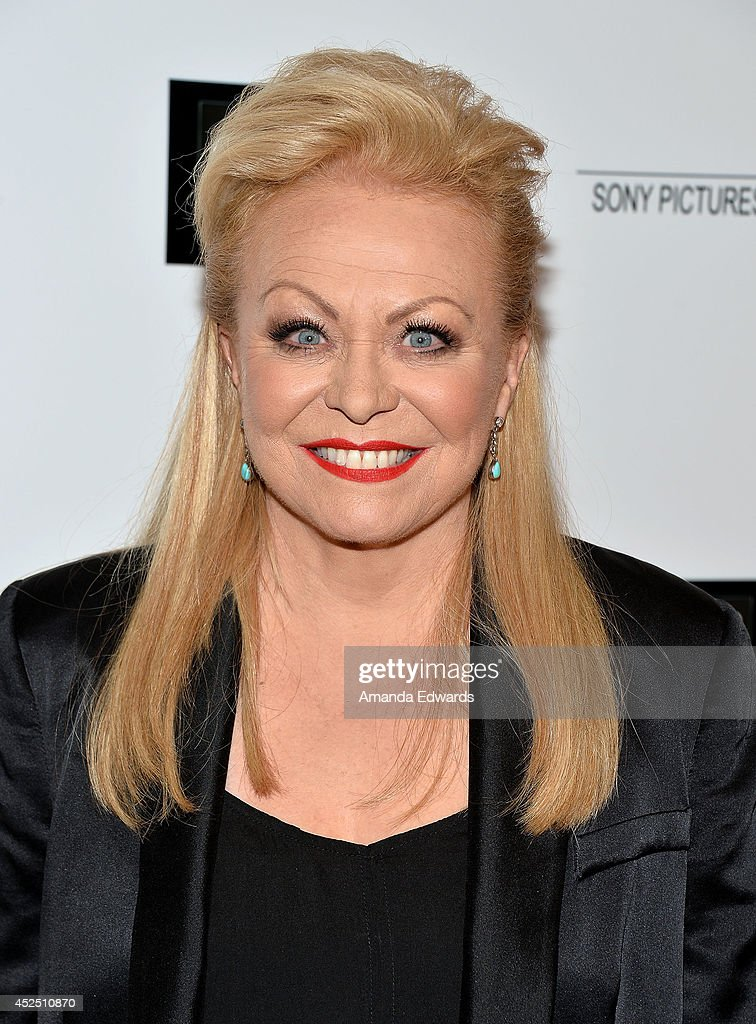 Actress <a gi-track='captionPersonalityLinkClicked' href=/galleries/search?phrase=Jacki+Weaver&family=editorial&specificpeople=220549 ng-click='$event.stopPropagation()'>Jacki Weaver</a> arrives at the special Los Angeles screening of 'Magic In The Moonlight' at the Linwood Dunn Theater at the Pickford Center for Motion Study on July 21, 2014 in Hollywood, California.