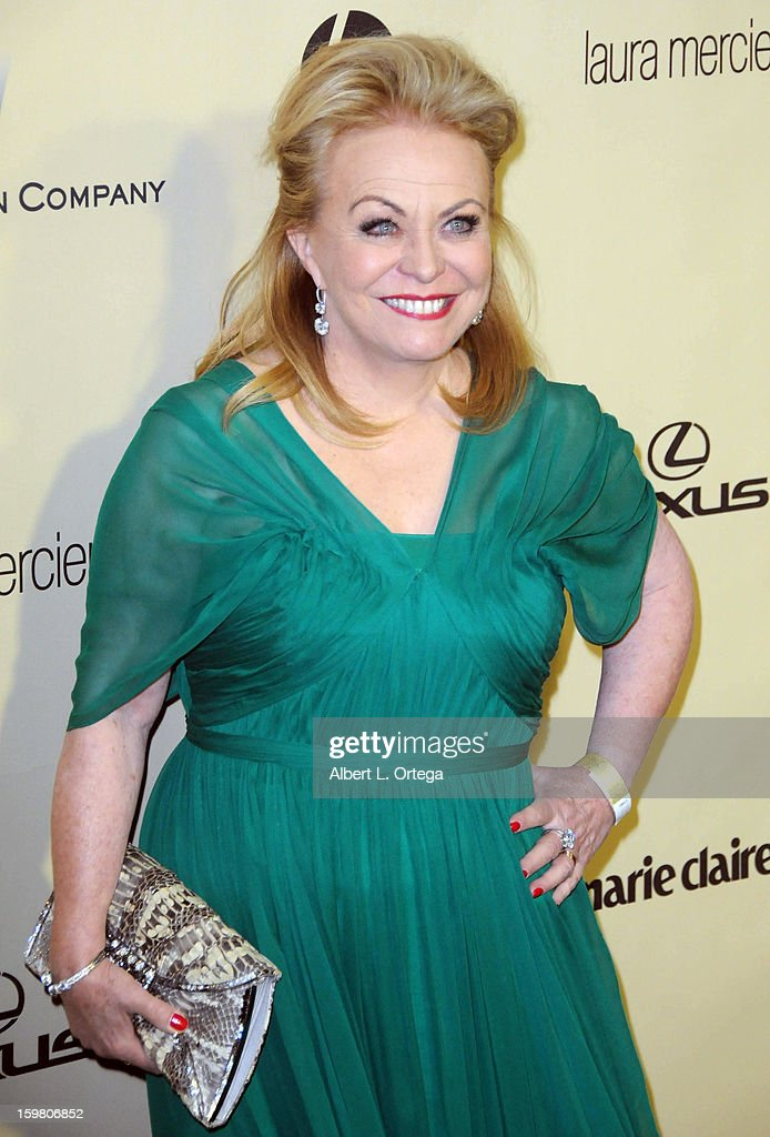 Actress Jacki Weaver arrives for the Weinstein Company's 2013 Golden Globe Awards After Party - Arrivals on January 13, 2013 in Beverly Hills, California.