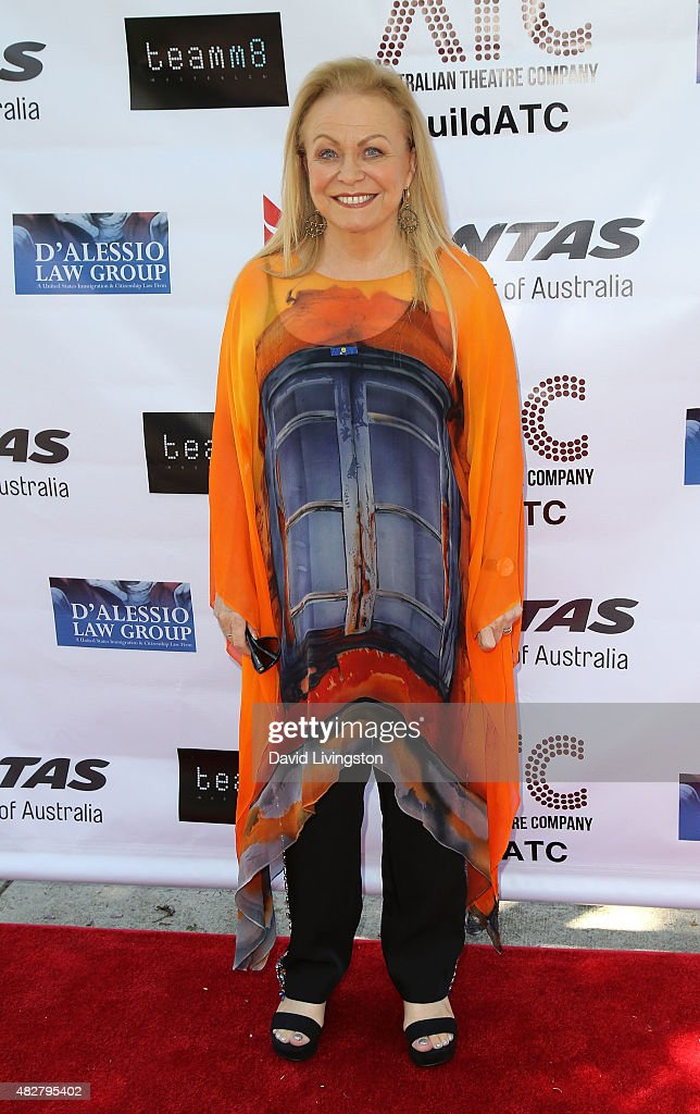 Actress <a gi-track='captionPersonalityLinkClicked' href=/galleries/search?phrase=Jacki+Weaver&family=editorial&specificpeople=220549 ng-click='$event.stopPropagation()'>Jacki Weaver</a> attends a fundraiser for the Australian Theatre Company hosted by the Australian Consul-General on August 2, 2015 in Los Angeles, California.