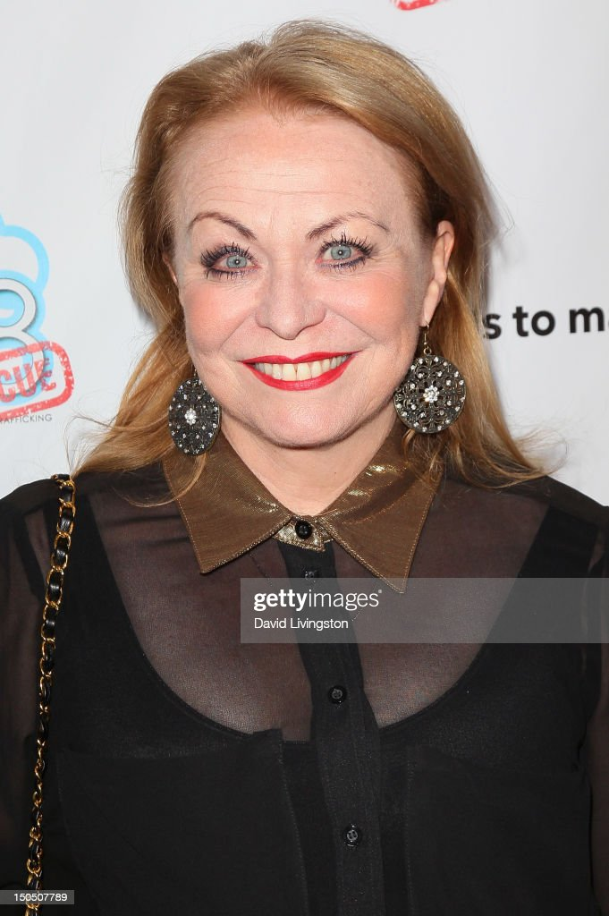 Actress Jacki Weaver attends Friends to Mankind's 2nd annual 18 For 18 charity event and fundraiser 'The Jump' benefitting the Somaly Mam Foundation at Lexington Social House on August 19, 2012 in Hollywood, California.