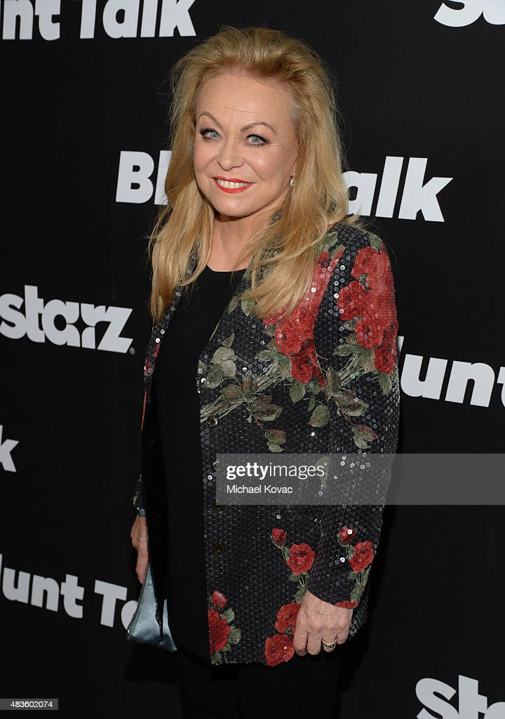 Actress <a gi-track='captionPersonalityLinkClicked' href=/galleries/search?phrase=Jacki+Weaver&family=editorial&specificpeople=220549 ng-click='$event.stopPropagation()'>Jacki Weaver</a> attends the STARZ' 'Blunt Talk' series premiere on August 10, 2015 in Los Angeles, California.