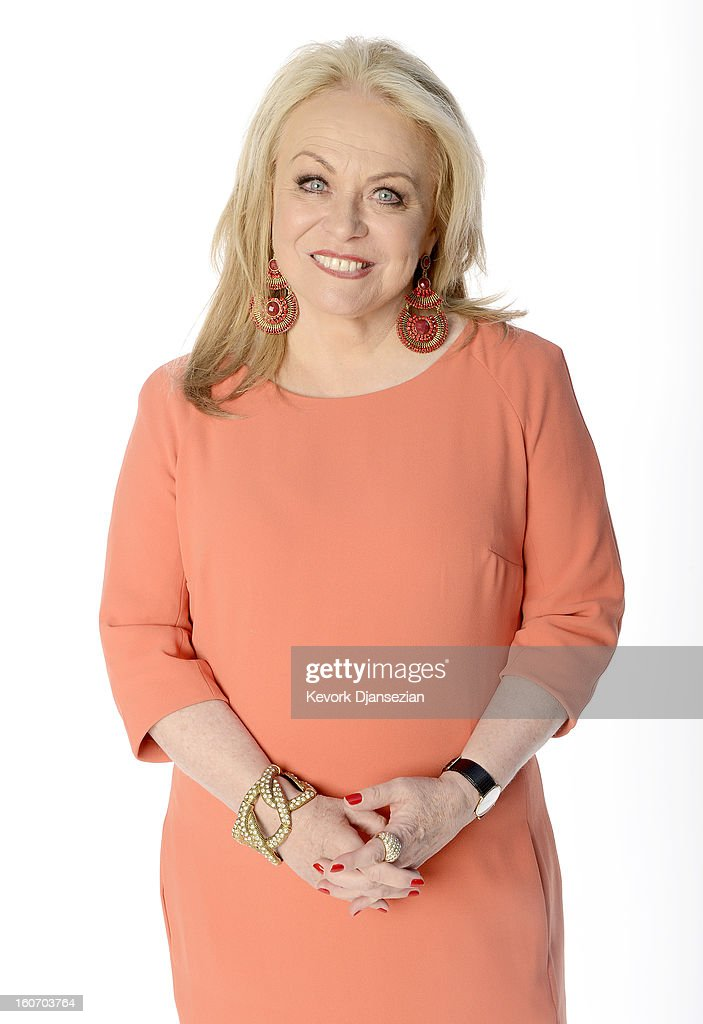 Actress Jacki Weaver poses for a portrait during the 85th Academy Awards Nominations Luncheon at The Beverly Hilton Hotel on February 4, 2013 in Beverly Hills, California.